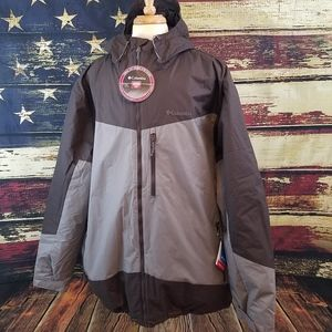 COLUMBIA WISTER SLOPE HOODED INSULATED WINTER COAT